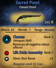 Sacred Pistol Profile