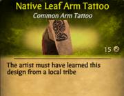 NativeLeafArmTat