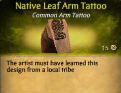 NativeLeafArmTat