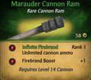 Marauder Cannon Ram