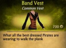 F Band Vest