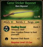Gator Sticker Bayonet 2010-12-05