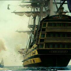 The HMS Endeavour