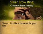 SilverBrowRing