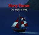 Navy Ferret