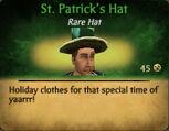 M St. Patrick's Hat