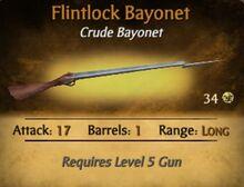 Flintlock Bayonet