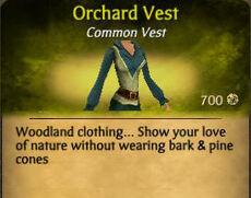 F Orchard Vest