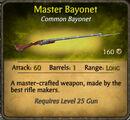 Master Bayonet 2010-11-29