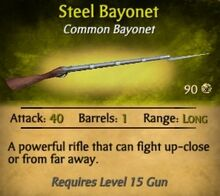 Steel Bayonet