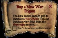 Scroll Buy a New War Frigate
