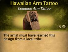 Hawaiian Arm Tattoo