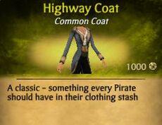 F Highway Coat