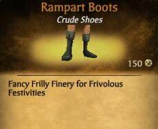 F Rampart Boots