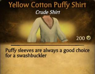 File:Yellow Cotton Puffy Shirt.jpg