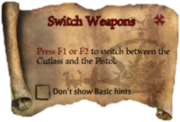 Scroll SwitchWeapons