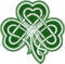Tattoo chest color shamrock