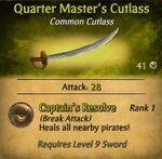 QM Cutlass