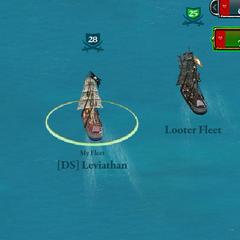 Two brigantine fleets