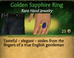 GoldenSapphireRing