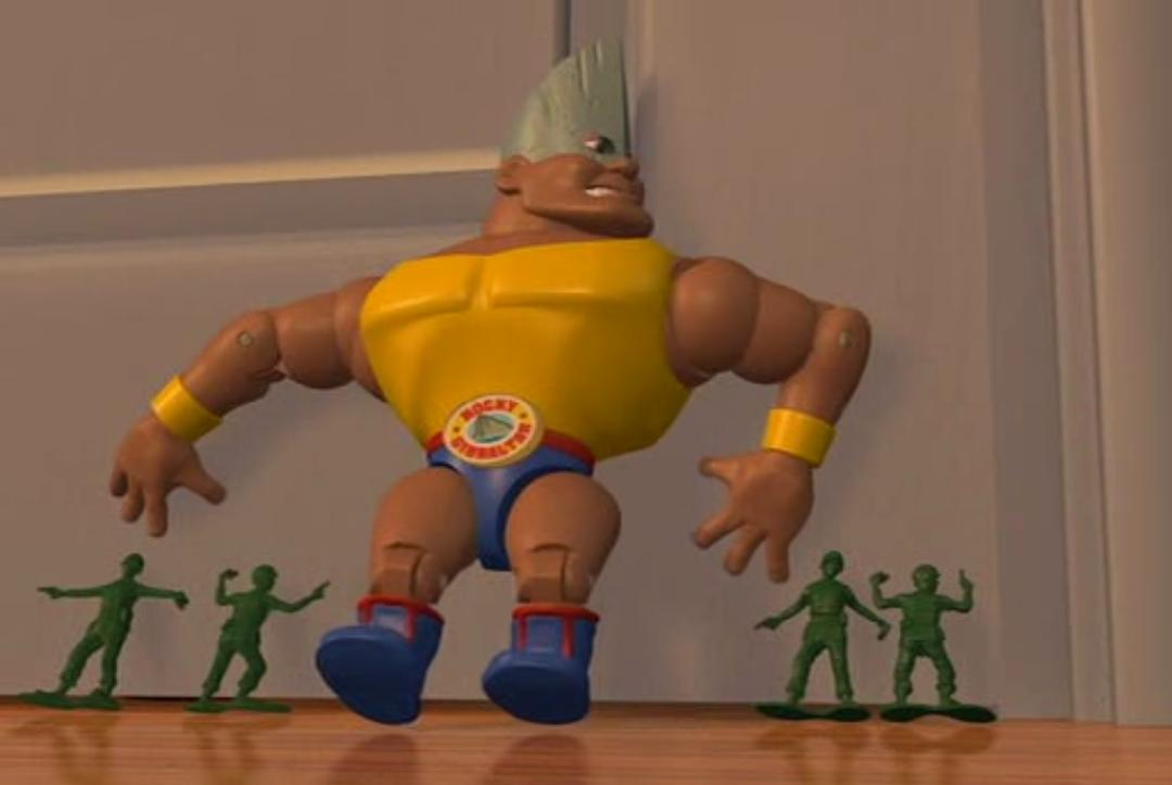 Toy Story Strong : Rocky gibraltar pixar wiki fandom powered by wikia