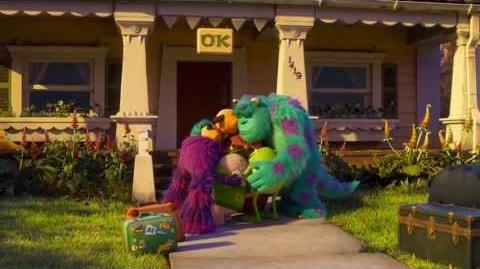 Monsters University - Acceptance Letter