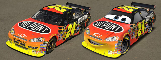 File:Cars Pixarizing Jeff Gordon by danyboz.jpg