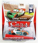 0001090 disney-pixar-cars-piston-cup-series-sputter-stop-no-92 300