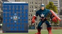Captain America and the Skill Tree, from Disney Infinity Marvel Super Heroes