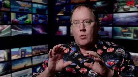 Cars 3 John Lasseter Interview