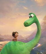 The Good Dinosaur Promo Art 01