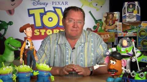 John Lasseter of Disney*Pixar Talks Toys
