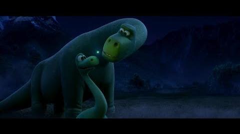 """""""Get Through Your Fear"""" Clip - The Good Dinosaur"""