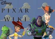 Toy Story Pixar Wiki Logo