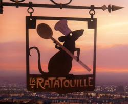 La ratatouille sign