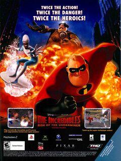 Incredible Rise of Underminer video game print ad NM Dec Jan 2006