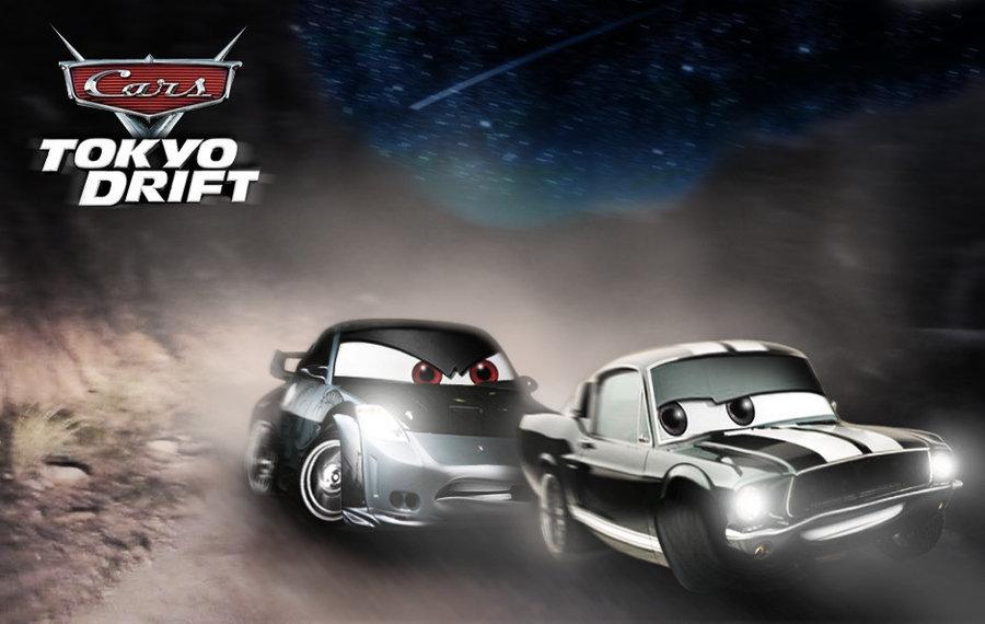 Image Cars Tokyo Drift Final Race By Jpg Pixar