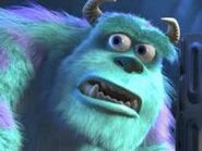 Sulley frowning
