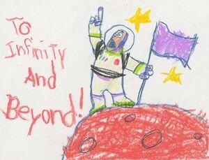 Buzz Lightyear Art-Ralph Eggleston
