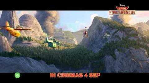 Disney's Planes Fire & Rescue Trailer (In Cinemas 4 September 2014)