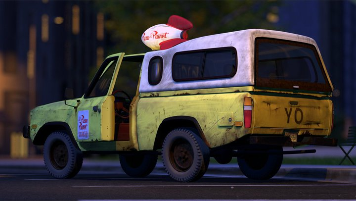 Pizza Planet Truck Pixar Wiki Fandom Powered By Wikia