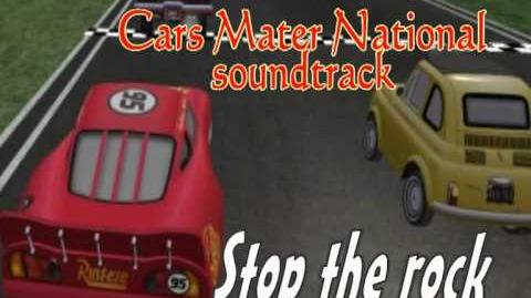 Cars Mater National Soundtrack-Stop the rock