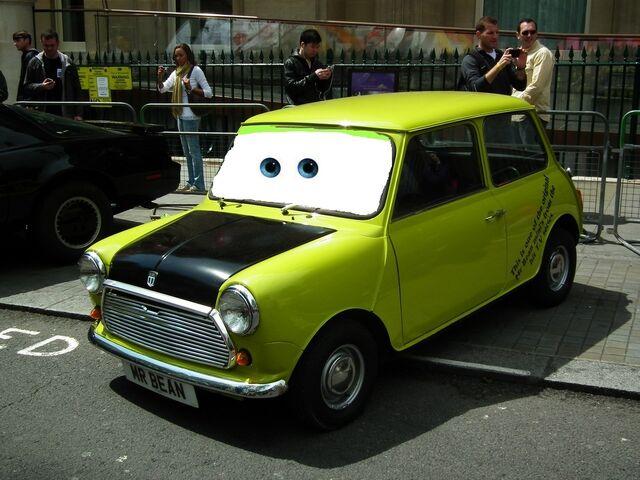 File:7428154422 888843b339 b Mr Bean Disney Pixar Cars.jpg