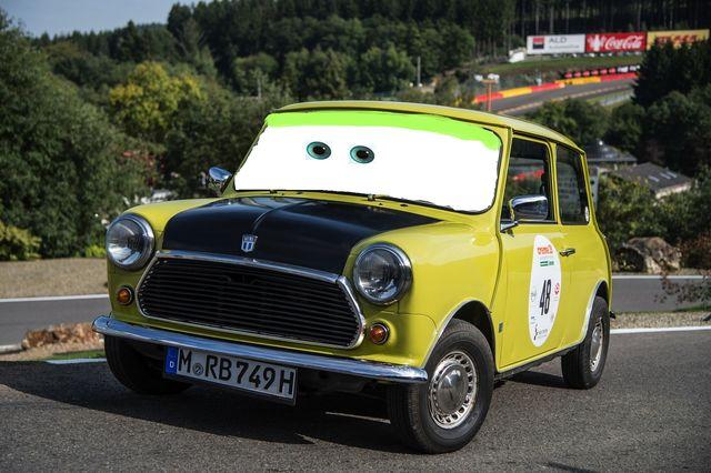 File:Mr-bean-s-classic-mini-showcased-at-european-rally-photo-gallery 5 Disney Pixar Cars.jpg