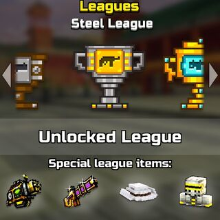 The steel league.
