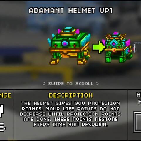 Medium Adamant Helmet.