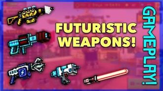 Pixel Gun 3D - Futuristic Weapon Gameplay!