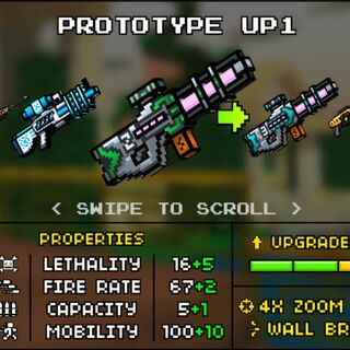 The Prototype Up1 and its upgrade, Prototype Up2.
