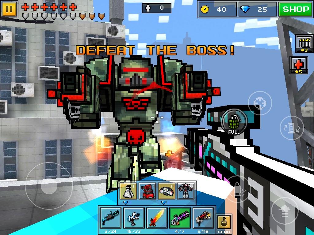 Military Mech | Pixel Gun Wiki | FANDOM powered by Wikia