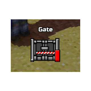 The image of gates.